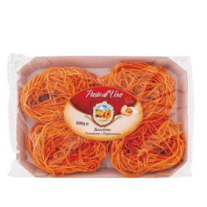 confezione-bavettine-pomodoro-e-peperoncino-pasta-italiana-italienischer-produkt-valeri-fainkost-antico-pastificio-del-gargano