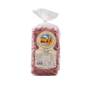 confezione-fusilli-al-vino-primitivo-wine-antico-pastificio-del-gargano-pasta-italiana-italienischer-produkt-valeri-fainkost