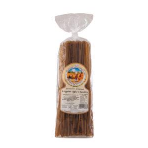 pasta-linguine-aglio-e-basilico-antico-pastificio-del-gargano-di-grano-duro-italienischer-produkt-valeri-fainkost